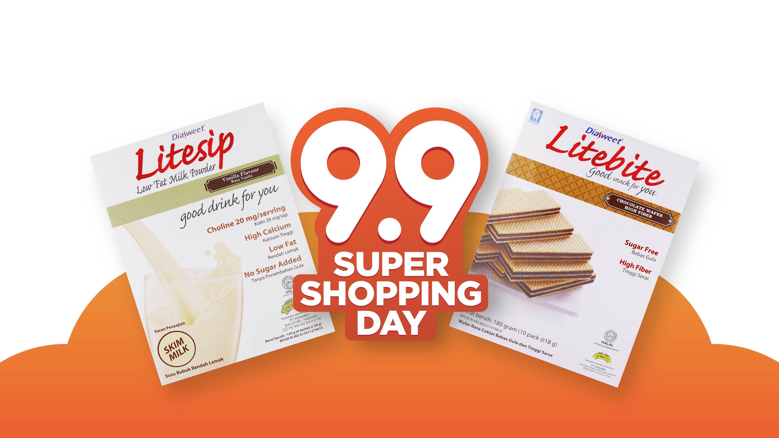 Diasweet Healthy -Promo Shopee Konimex